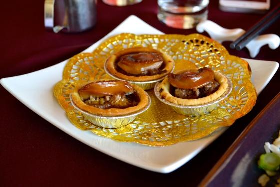 Goose liver puff pastries