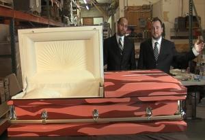 Justin & Dave_Bacon Coffin