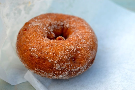 Apple cider doughnut
