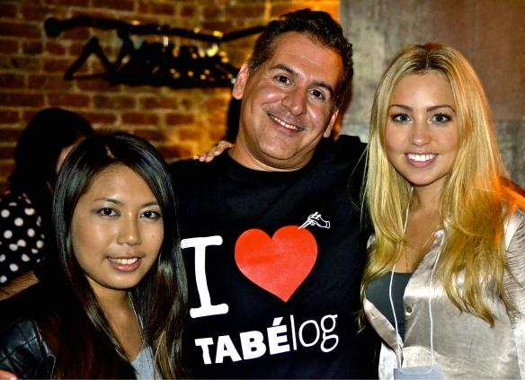 Me with Anna Fatlowitz from Fatz Food and Brock Purpura from Tabélog New York