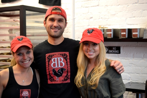 Reppin' Bantam Bagels with Nick and Elyse Oleksak