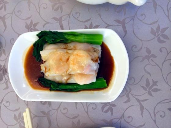 Rice noodle rolls