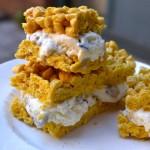 Cap'n Crunch cookie dough ice cream sandwiches