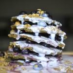 Açai Blueberry Probiotic Oat Pancakes